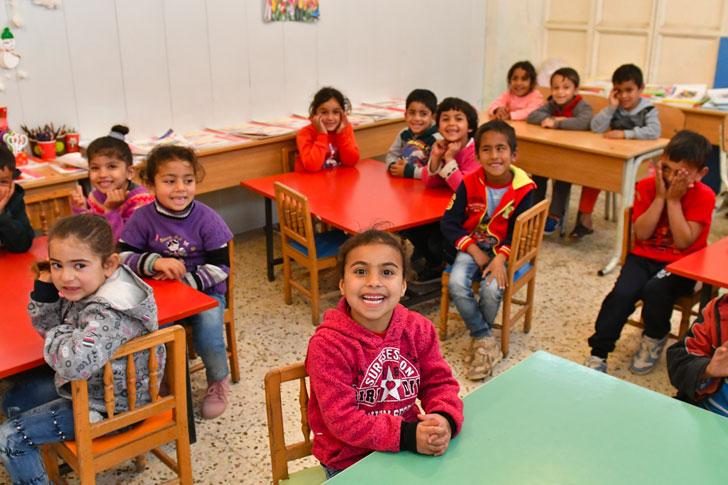 Liban – Des écoles pour enfant syriens réfugiés