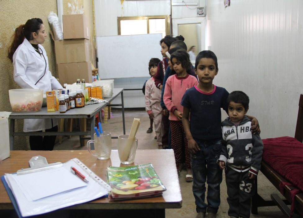 Irak – Soins et aide d'urgence pour des orphelins et des familles