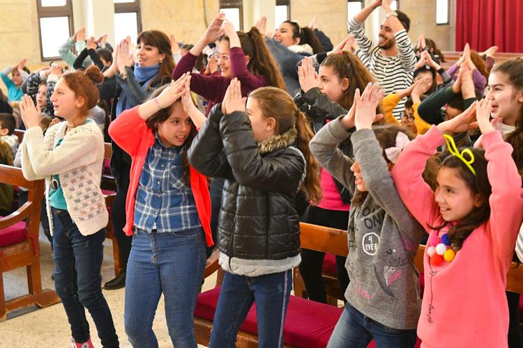 Syrie – Accompagnement des enfants grâce aux écoles du dimanche