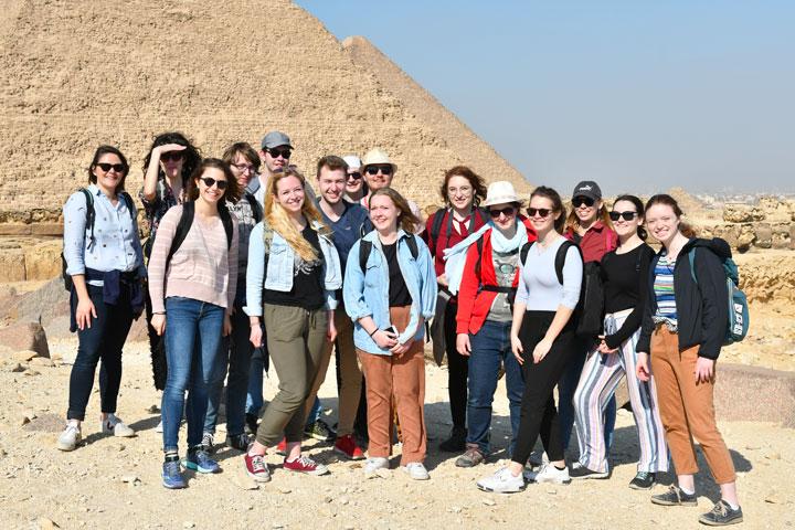 Egypte – un échange de jeunes entre la France et l'Egypte