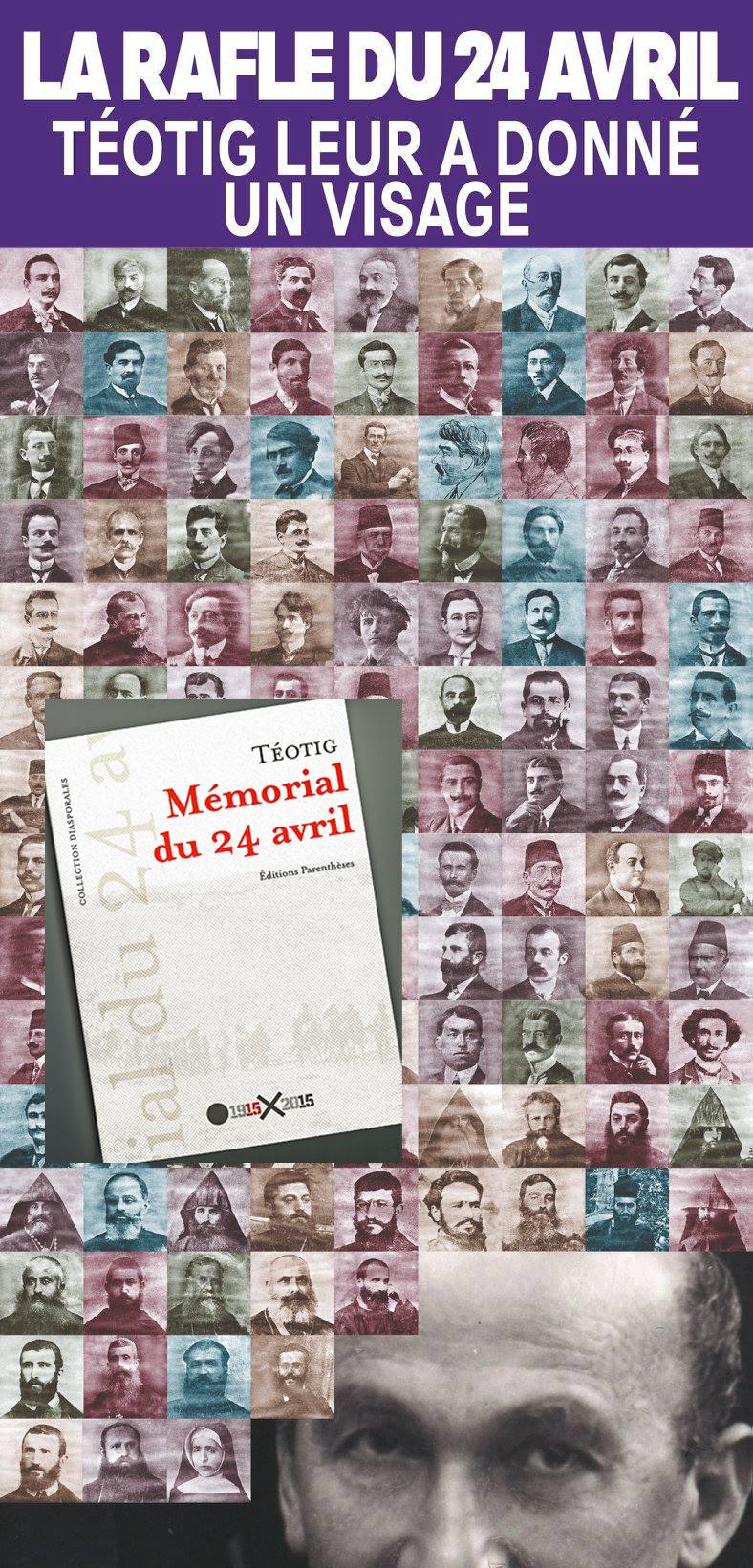 105ème commémoration du génocide arménien. Témoignage