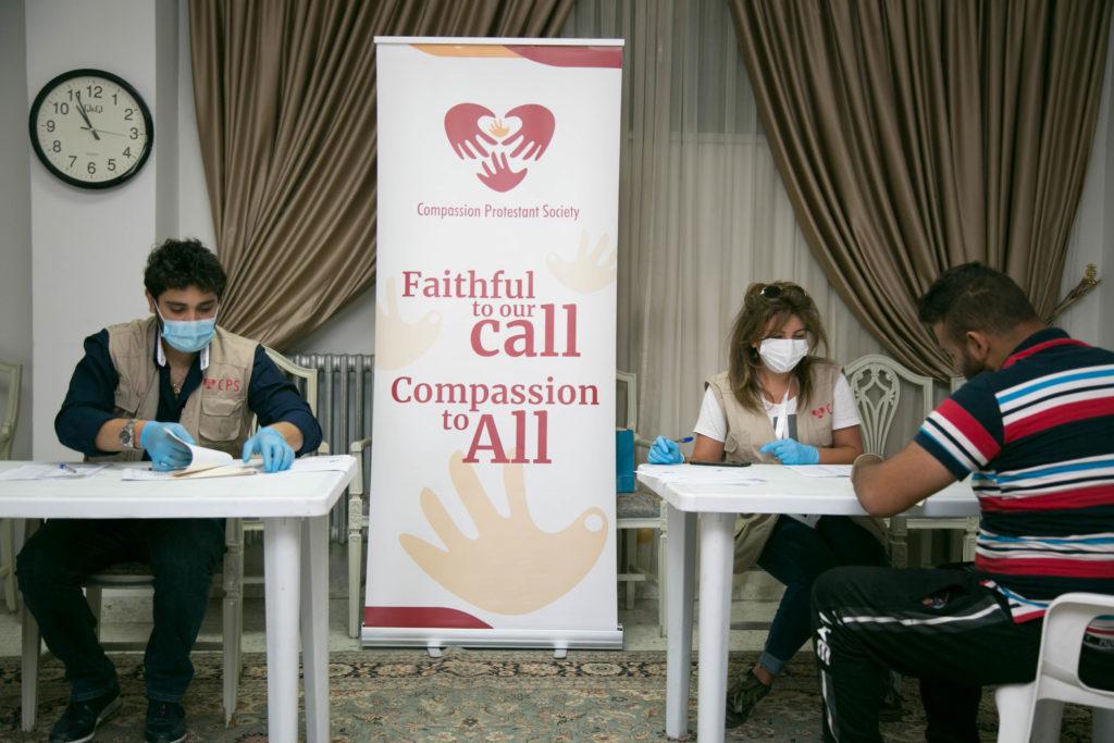 Aide alimentaire et kits d'hygiène anti-Covid au Liban – juillet 2020