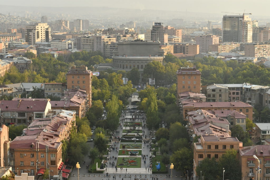 Prier pour la paix en Arménie