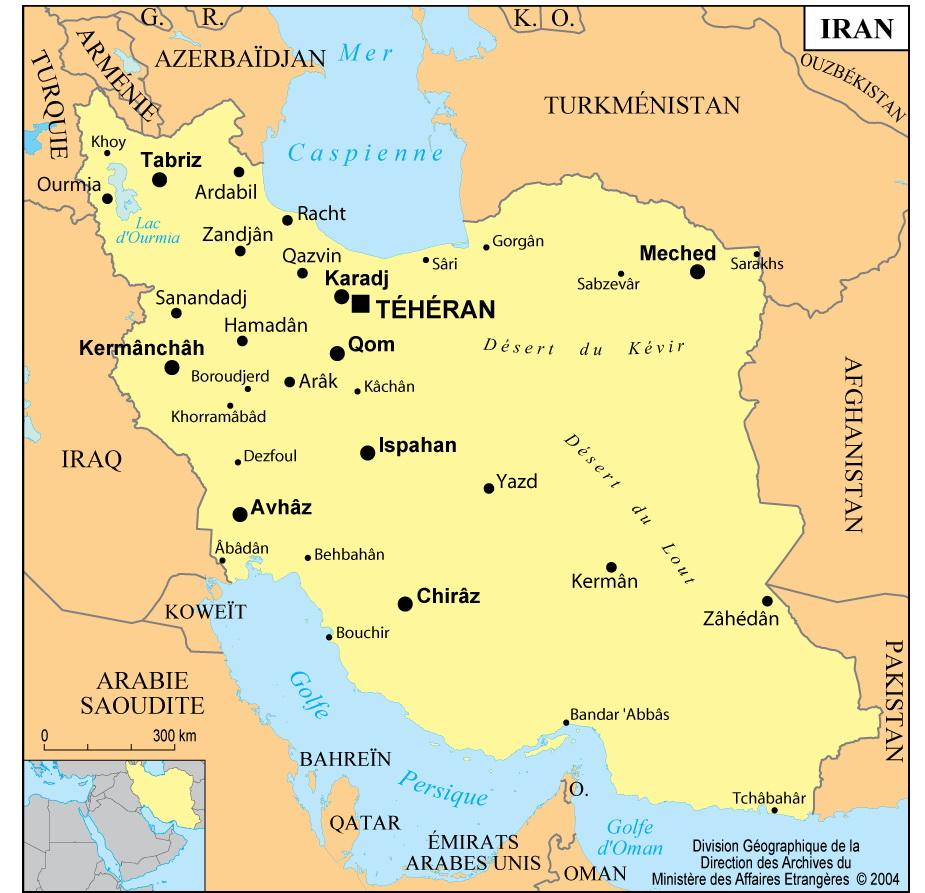Prier avec l'Eglise d'Iran
